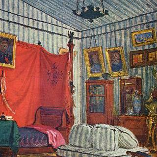 모르네 백작의 침실