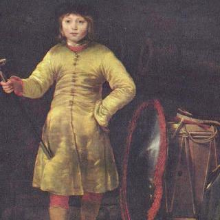 폴란드 복장을 한 오토 판 데르 바이언 (1648-1686)의 8살 때 초상