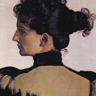 화가의 부인, 베르트 자크의 초상