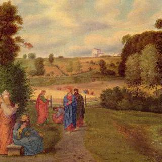 예수와 제자들