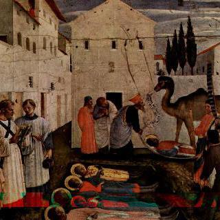 성코스마스와 다미안의 순교, 두 성인들의 매장