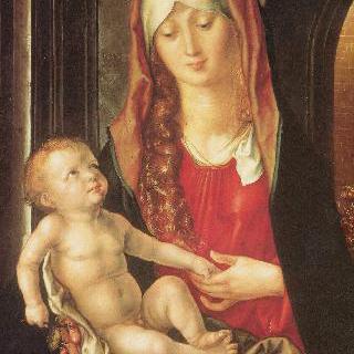 홍예문 앞의 마리아와 아기 예수