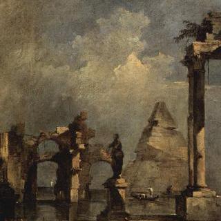 피라미드가 있는 카프리초