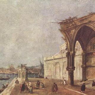 베네치아를 모티브 그린 카프리초