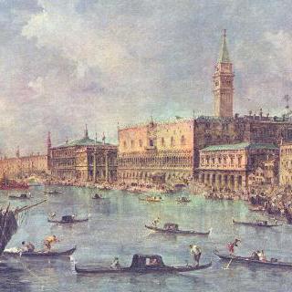 베네치아의 총독궁 (두칼레 궁전)