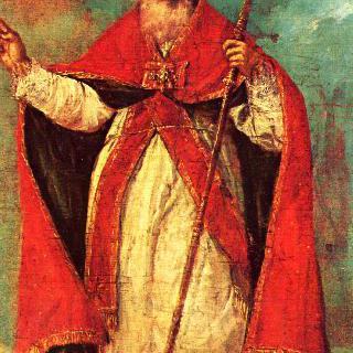축복을 내리는 성 니콜라우스