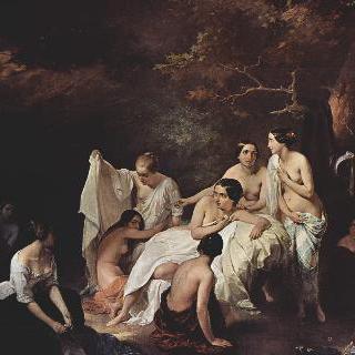 님프들의 목욕