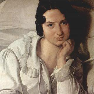 병을 앓는 여인 (카롤리나 추키의 초상)