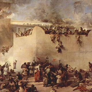 예루살렘 성전의 파괴 이미지