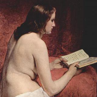 책을 읽고 있는 오달리스크