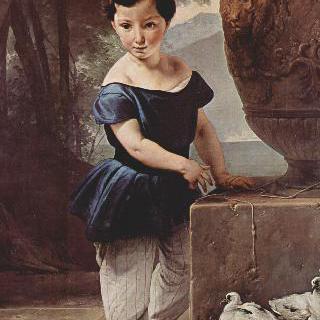 돈 줄리오 비고니의 어린 시절 초상