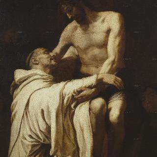 그리스도와 성 베르나르도