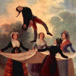 꼭두각시 (엘 파르도 왕궁과 엘 에스코리알 왕궁을 장식할 벽걸이 융단들을 위한 초안)