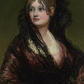 도냐 이사벨 카보스 데 포르셀의 초상