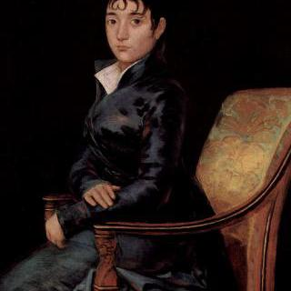 도냐 테레사 수레다의 초상