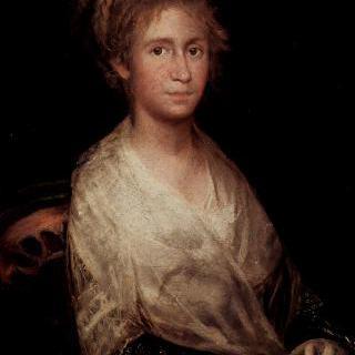 화가의 부인, 호세파 바예우 이 수비아스 (1747-1812)의 초상