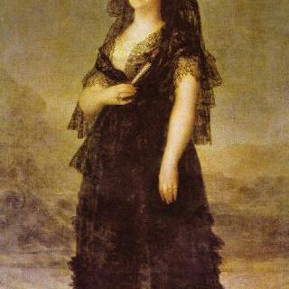 마리아 루이사 왕비의 초상