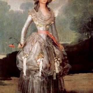 폰테호스 후작부인, 마리아 아나 데 폰테호스 이 산도발 (1762-1834)의 초상