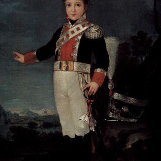 돈 세바스티안 가브리엘 데 보르본 이 브라간사의 초상