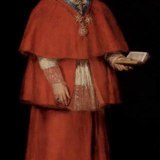 추기경 루이스 마리아 데 보론 이 발라브리가의 초상