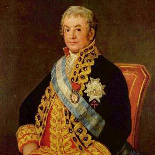 스페인 법무장관, 호세 안토니오 카바예로의 초상