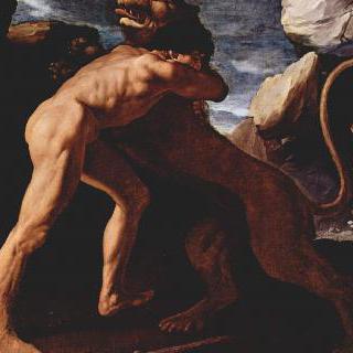 네메아의 사자를 처치하는 헤라클레스