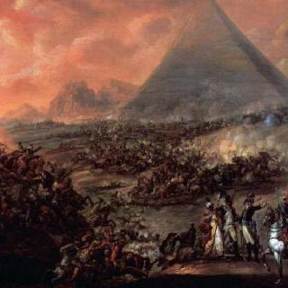 피라미드 부근의 전투