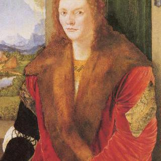 빨간 외투를 입은 무명인의 초상 (성 세바스찬)