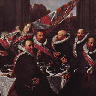 하를럼시 성 게오르기우스 민병대 장교들의 연회