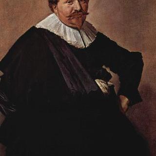 뤼카스 데 클레르크(1593-1652)의 초상. 탄산칼륨 취급업자