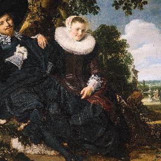 이사크 마사와 베아트릭스 판 데르 란의 결혼 초상