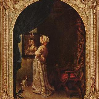 거울 앞의 여인