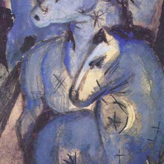 푸른 말들의 탑