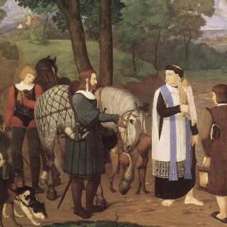 합스부르크의 루돌프 황제와 사제