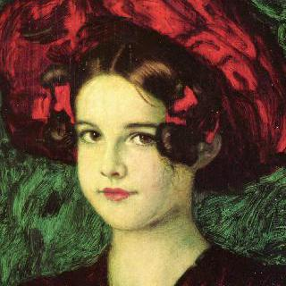 빨간 모자를 쓴 메리