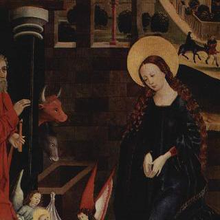 그리스도의 탄생, 아기 그리스도에 대한 경배