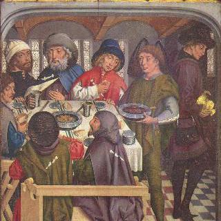 콤포스텔라 순례자들의 식사