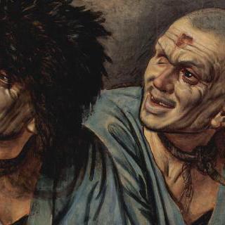 두 가지 모습을 한 노예의 머리