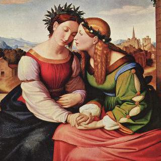 이탈리아와 게르마니아 (술람미와 마리아)