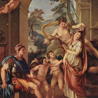 파리스에게 헬레네를 아내로 주는 비너스