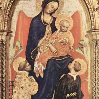 성모와 성 라우렌티우스, 성 율리아누스