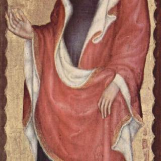 마리아의 대관식, 오른쪽 바깥 날개 : 성 마리아 막달레나