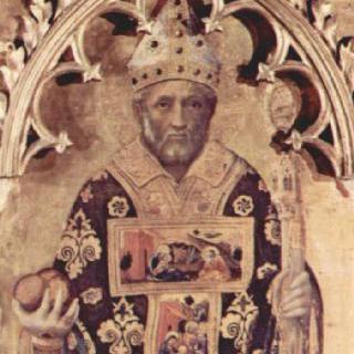 콰라테시 다폭 제단화, 측면 패널 : 바리의 성 니콜라우스