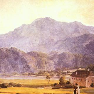 헤어초크슈탄트 산과 하임가르텐 산이 있는 풍경