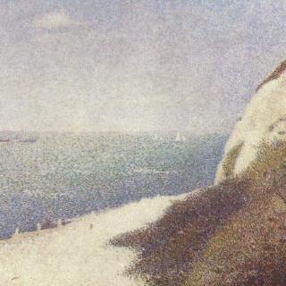 옹플뢰르의 르 바 뷔탱 해변