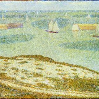 포르탕베생 항구로의 입항