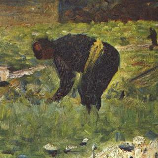 일하는 농부