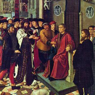 캄비세스 왕과 시삼네스 재판관, 재판관의 체포