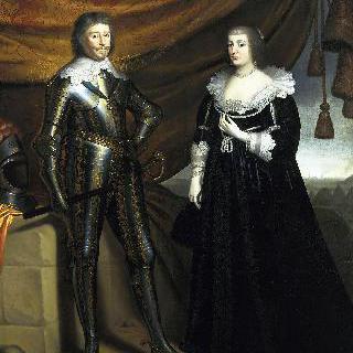 프레데릭 헨드릭 왕자와 그의 부인 아말리아 판 솔름스