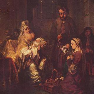 성전에 봉헌되는 그리스도